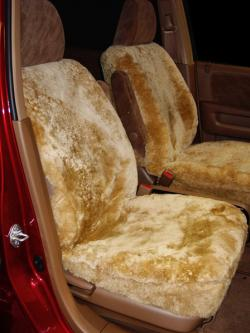 Honda Crv Camel Sheepskin Seat Covers