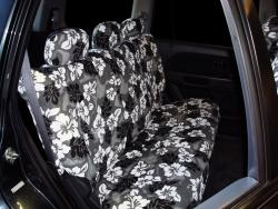 Honda Pilot Grey Hawaiian Rear Seat Seat Covers