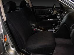 Inifiniti I30 Black Vel Quilt Seat Seat Covers