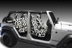 Jeep Wrangler Cow Velour Seat Seat Covers