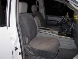 Nissan Armada Charcoal Dorchester Seat Seat Covers