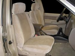 Nissan Pathfinder Two Tone Velour Tan W Tan Madrid Insert Seat Seat Covers