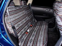 Nissan Rogue Grey Aztec Rear Seat Seat Covers