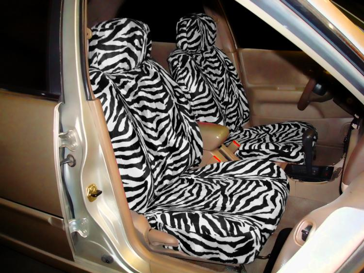 Zebra Seat Covers