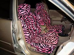 Nissan Sentra Pink Zebra Seat Seat Covers