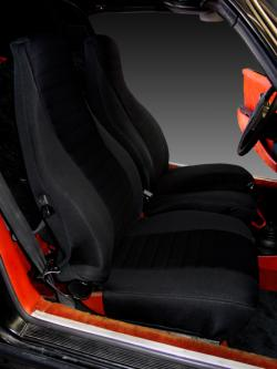 Porsche 911 Black Neoprene Seat Seat Covers