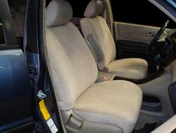 Toyota Highlander Tan Suede Seat Seat Covers