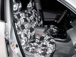 Toyota Rav 4 Grey Hawaiian Seat Seat Covers