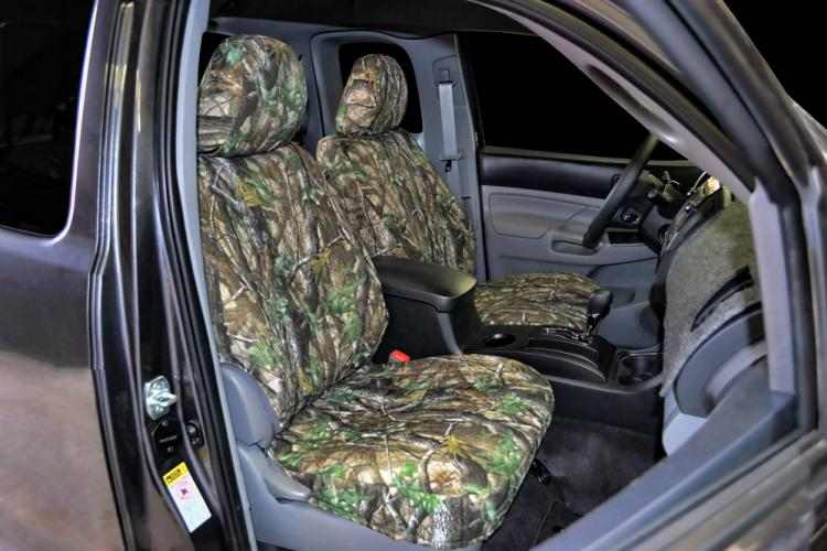 Camo Neoprene Seat Covers For Toyota Tacoma