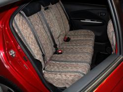 Toyota Yaris Grey Saddle Blanket Rear Seat Seat Covers