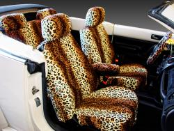 Vw Beetle Leopard Seat Covers