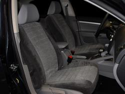 Vw Jetta Two Tone Charcoal W Grey Regal Insert Seat Seat Covers