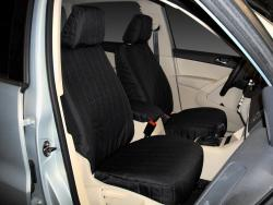 Vw Tiguan Black Cordura Seat Covers