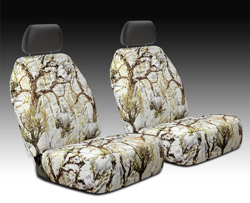 Snow Camouflage Seat Cover