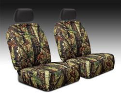 True Timber Camouflage Seat Cover