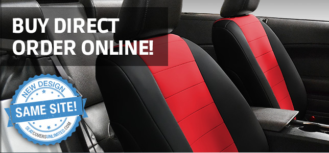 Quality Custom Auto Seat Covers From Seat Covers Unlimited