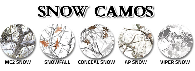 Snow Camouflage swatches