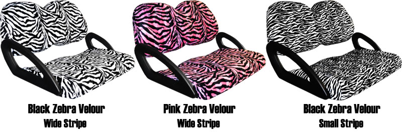 Zebra Velour Seat Covers Seat Covers Unlimited