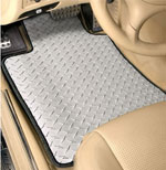 Diamond Plate Auto Mat, Custom Fit