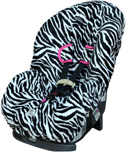 Zebra Toddler Car Seat Cover Seat Covers