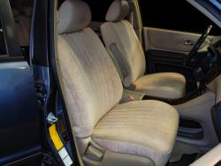 Acura MDX Tan Suede Seat Seat Covers