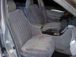 Acura TSX Charcoal Madrid Seat Seat Covers