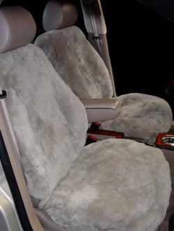 Audi A6 Taupe Sheepskin Seat Seat Covers