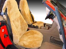 BMW Z3 Sheepskin Camel Seat Seat Covers