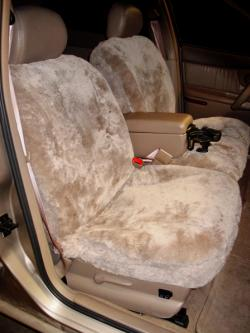 Buick Century Taupe Sheepskin Seat Seat Covers