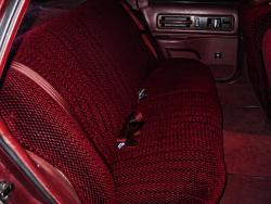 Chevy Caprice Brick Scottsdale Rear Seat Seat Covers