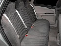 Chevy Impala Charcoal Dorchester Rear Seat Seat Covers