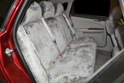 Chevy Impala Non Shed Silver Rear Seat Seat Covers