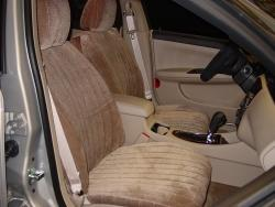 Chevy Impala Taupe Madrid Seat Seat Covers