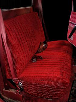 Chevy S10 Pickup Red Scottsdale Seat Seat Covers