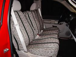 Chevy Silverado Black Saddle Blanket Seat Seat Covers
