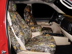Chevy Silverado Camo Superflauge Seat Seat Covers