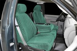 Chevy Silverado Green Scottsdale Seat Seat Covers