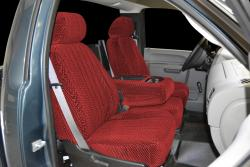 Chevy Silverado Red Scottsdale Seat Seat Covers