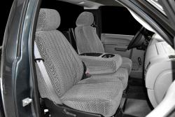 Chevy Silverado Silver Scottsdale Seat Seat Covers