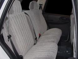Chevy Trailblazer Silver Scottsdale Rear 4seat Seat Covers