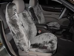 Chrysler Sebring Silver Imitation Sheepskin Seat Seat Covers