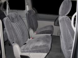 Chrysler Town And Country Mid Charcoal Madrid Seat Seat Covers
