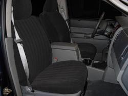 Dodge Durango Black Vel Quilt Seat Seat Covers