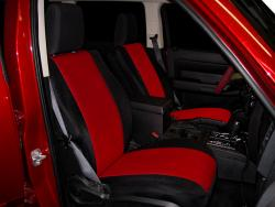 Dodge Nitro Red Neoprene Seat Seat Covers