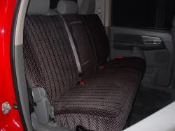 Dodge Ram Charcoal Scottsdale Rear Seat Seat Covers
