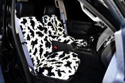 Ford Explorer Black Cow Velour Seat Seat Covers