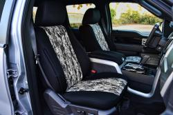 Ford F-150 Neo Camo Grey Digital Seat Seat Covers