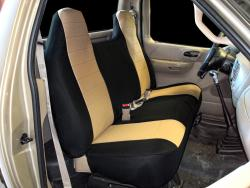 Ford F-150 Tan Neoprene Seat Seat Covers