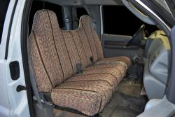 Ford F-250 Brown Saddle Blanket Seat Seat Covers