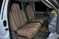 Ford F-250 Green Saddle Blanket Seat Seat Covers